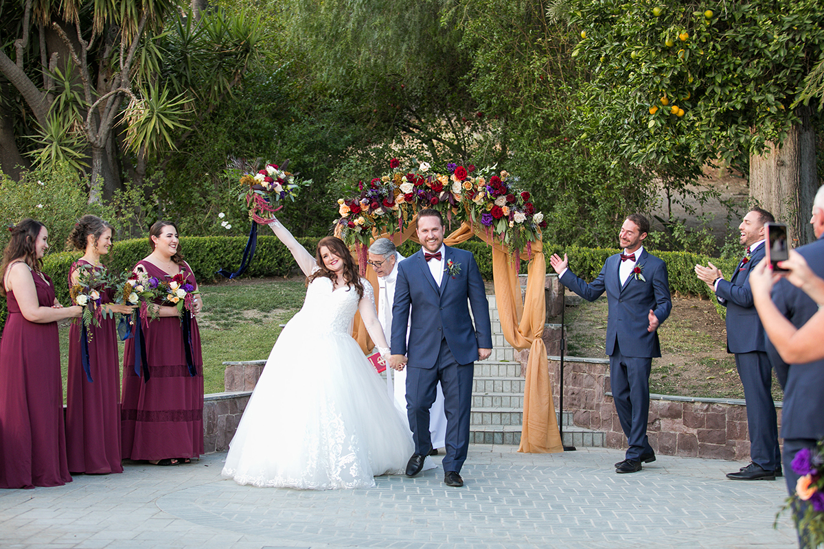 Kelly and Brian tie the knot Newhall Mansion Wedding 2018 www.Yitentertainment.com