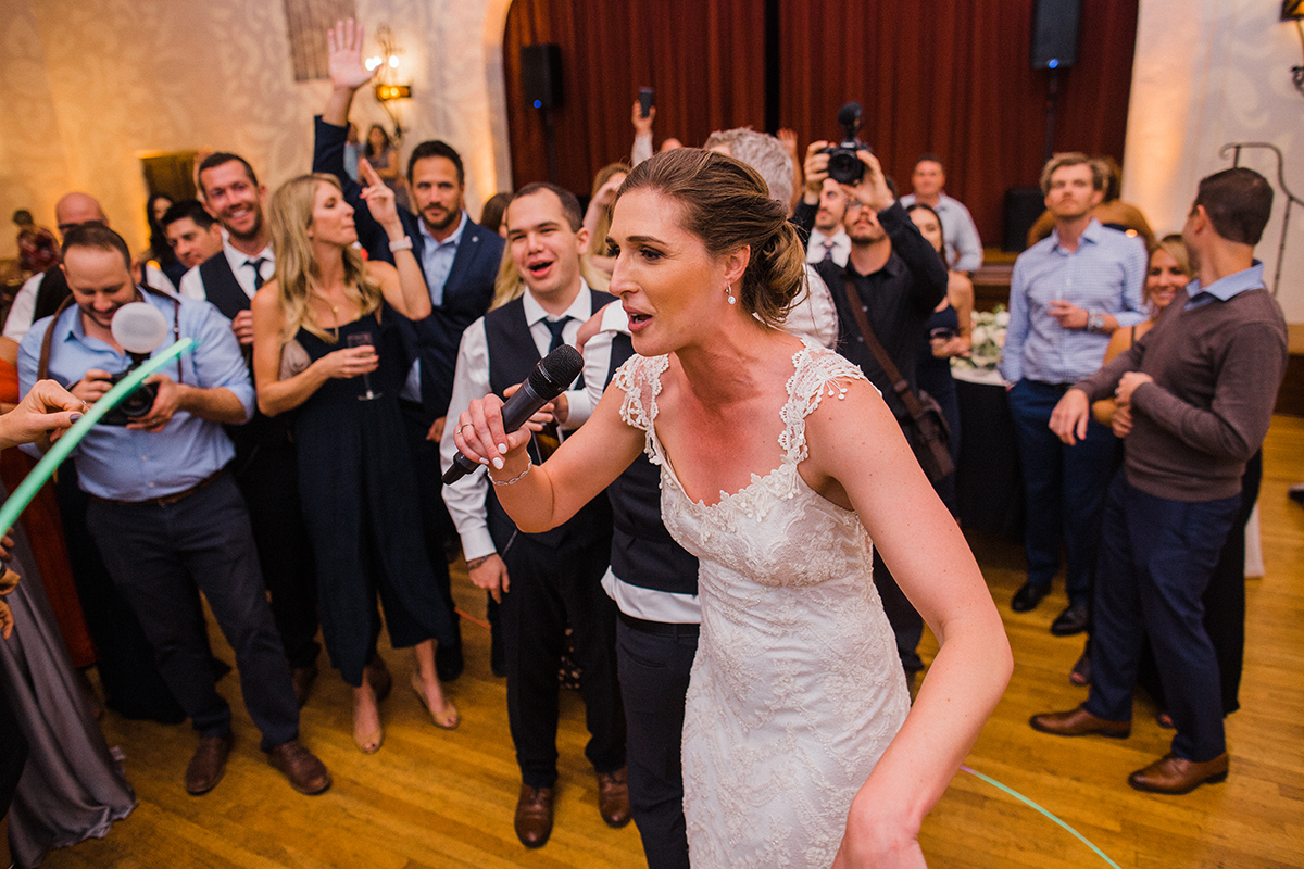 Rockwood Womens club wedding staci and danny dance