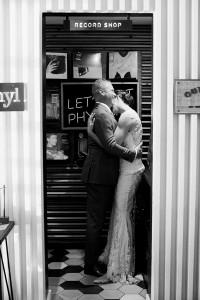 Rockwood Womens club wedding Santa Barbara record shop