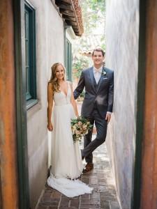 Amanda and Max's wedding Santa Barbara, CA Historic museum