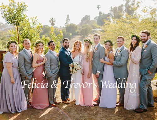 Camarillo Wedding at a Private Residence with Felicia and Trevor