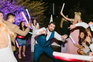 Wedding Groom on dance floor