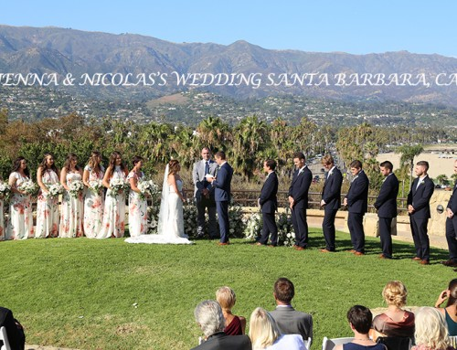 Santa Barbara Wedding at Villa & Vine with Jenna & Nicolas