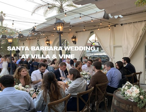 Santa Barbara Wedding at Villa & Vine with Y-it Entertainment