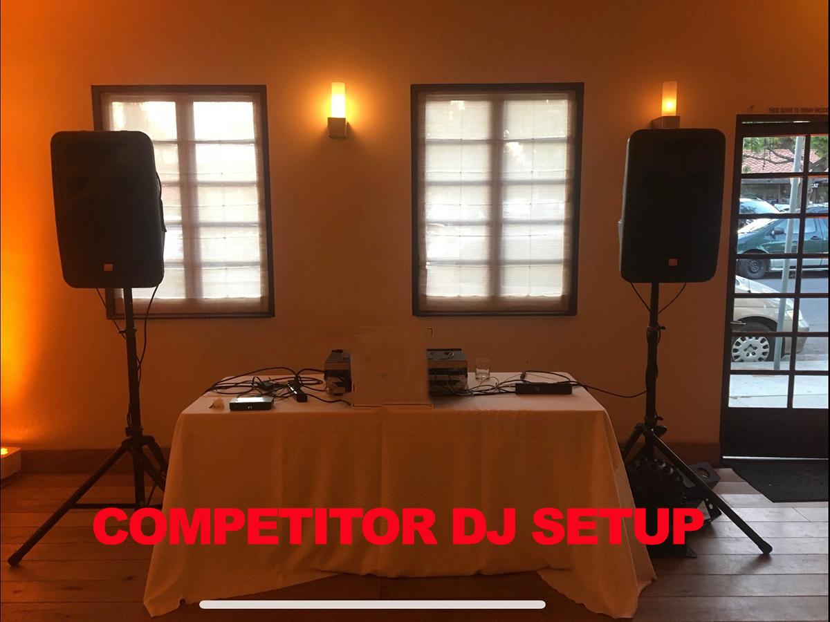 Competitor DJ Setup